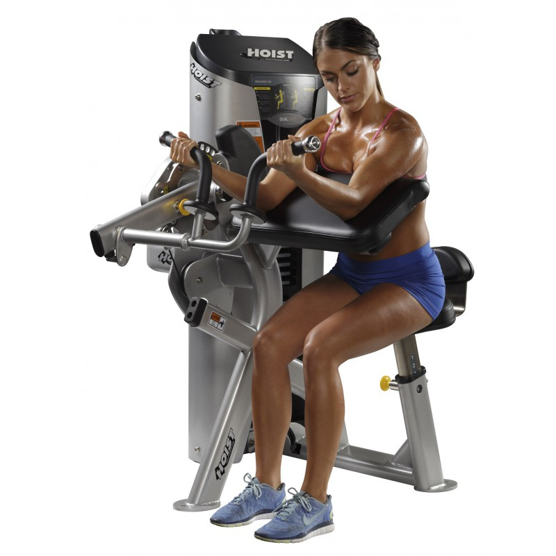 Hoist Preacher Bench: Hoist HD-3100 Preacher Curl/Triceps Extension